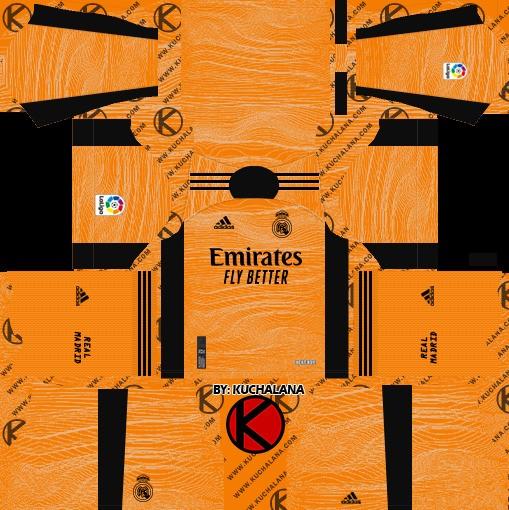 DLS19 Real Madrid Uniforme visitante del portero