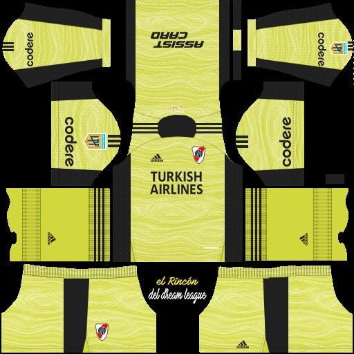 DLS19 River Plate tercer uniforme del portero