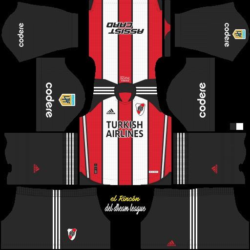 DLS19 River Plate tercer uniforme