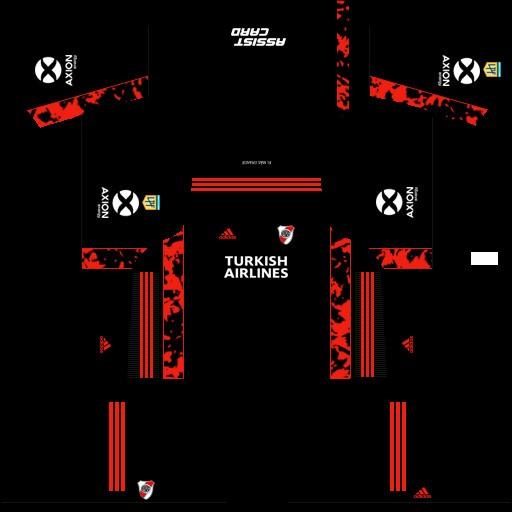 DLS19 River Plate uniforme local del portero