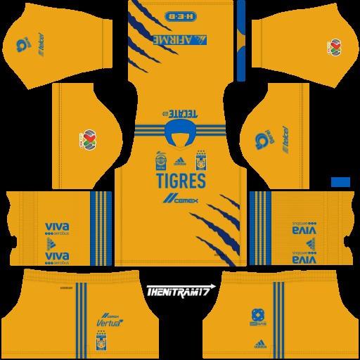 DLS19 Tigres UANL Uniforme local