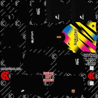 DLS20 Barcelona cuarto uniforme del portero