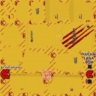DLS20 Barcelona cuarto uniforme