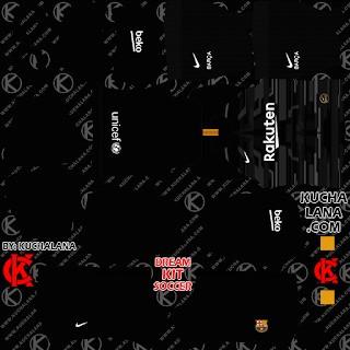 DLS20 Barcelona tercer uniforme del portero