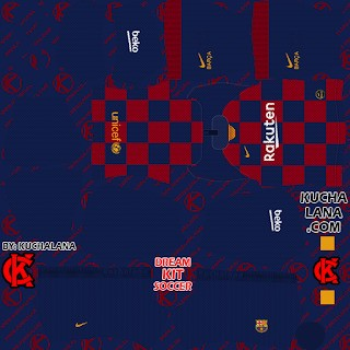 DLS20 Barcelona uniforme local