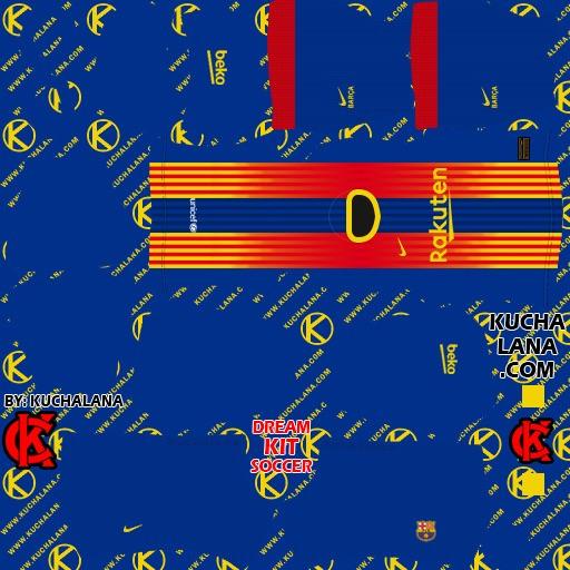 DLS21 Barcelona Cuarto uniforme