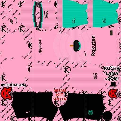 DLS21 Barcelona Tercer uniforme