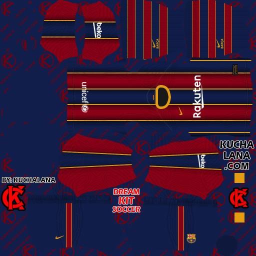 DLS21 Barcelona Uniforme titular