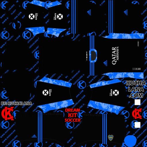 DLS21 Boca Juniors Tercer uniforme del portero