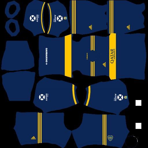 DLS21 Boca Juniors Uniforme local