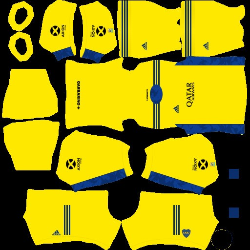 DLS21 Boca Juniors Uniforme visitante del portero