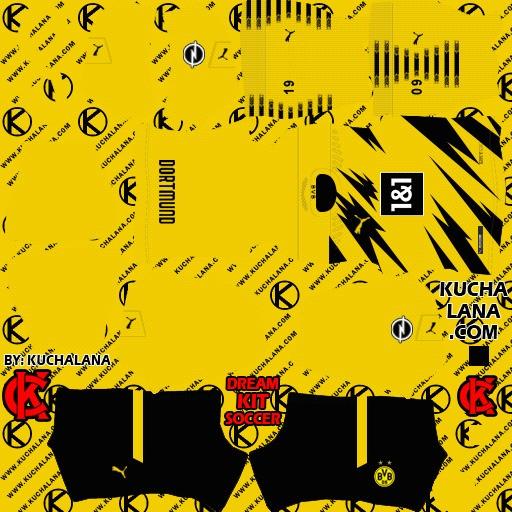 DLS21 Borussia Dortmund Uniforme Titular
