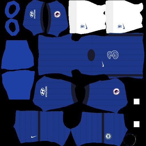 DLS21 Chelsea Uniforme Titular