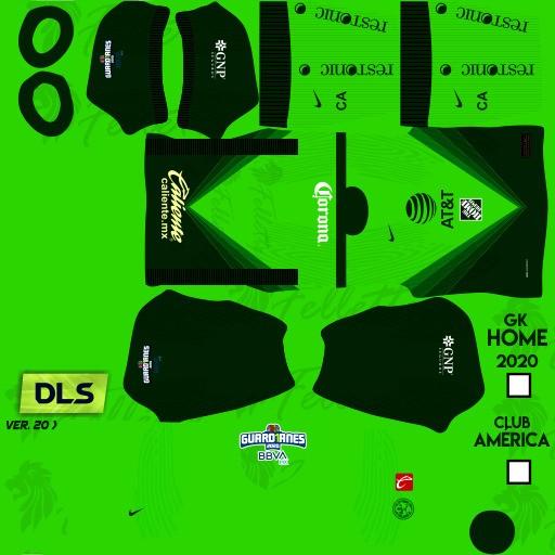 DLS21 Club América Tercer uniforme del portero