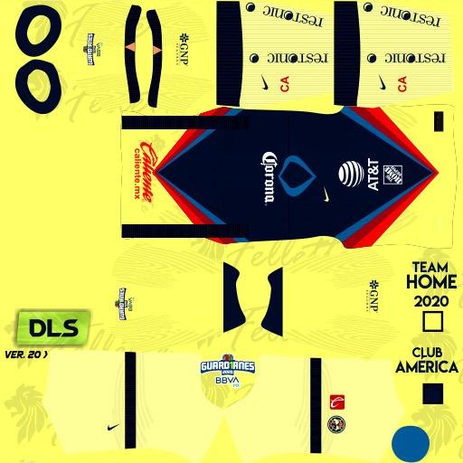 DLS21 Club América Uniforme Local