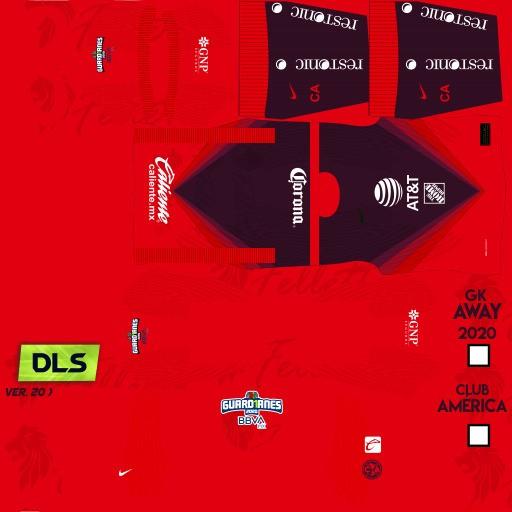 DLS21 Club América Uniforme visitante del portero