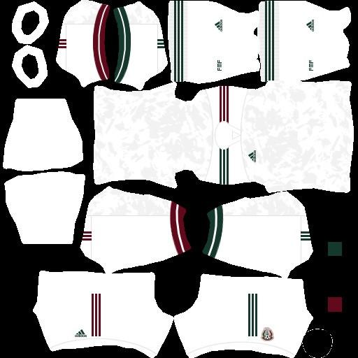 DLS21 Copa Oro 2021 México Uniforme visitante