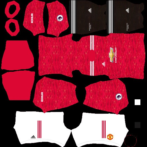 DLS21 Manchester United Uniforme Titular