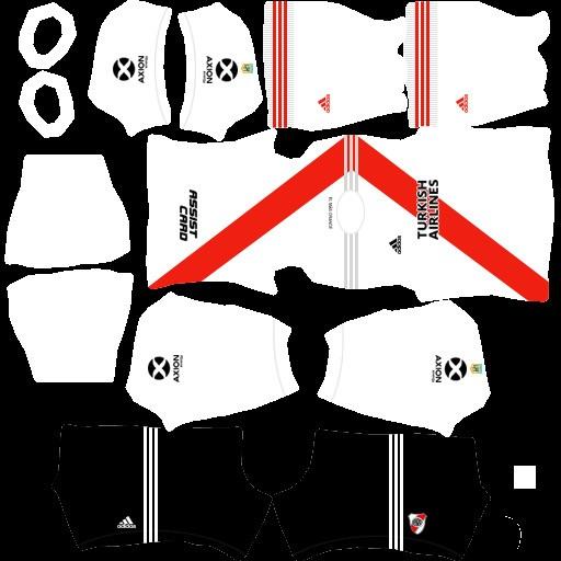 DLS21 River Plate Uniforme Titular