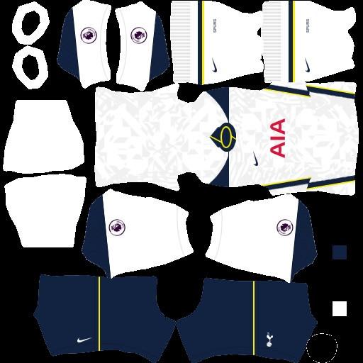 DLS21 Tottenham Hotspur Uniforme Titular