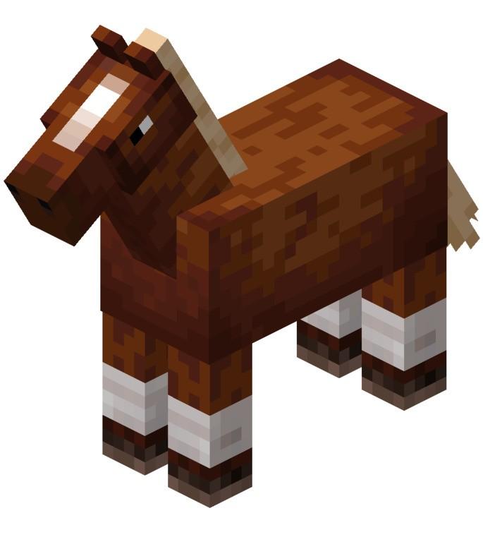 Domesticar Caballo Minecraft