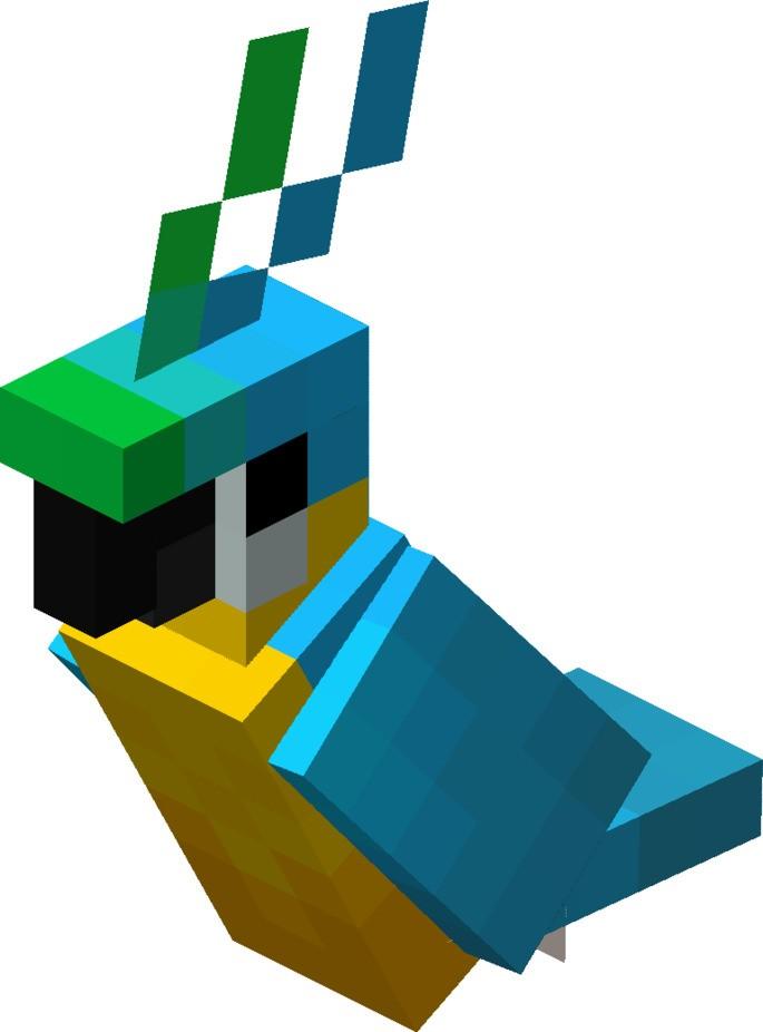 Domesticar Loro Minecraft