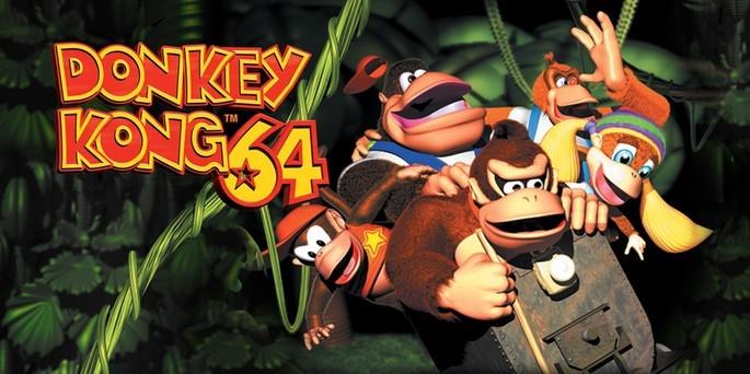 Donkey Kong 64 - Mejores juegos de la Nintendo 64