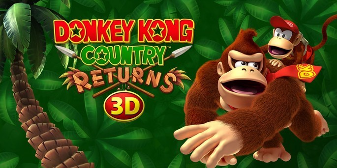 Donkey Kong Country Returns 3D - Mejores juegos 3DS