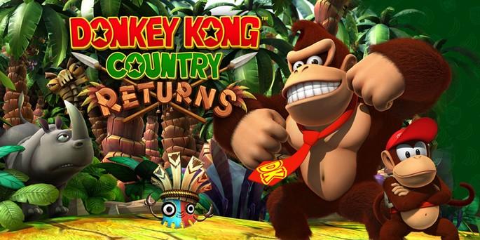 Donkey Kong Country Returns - Juegos de Nintendo Wii
