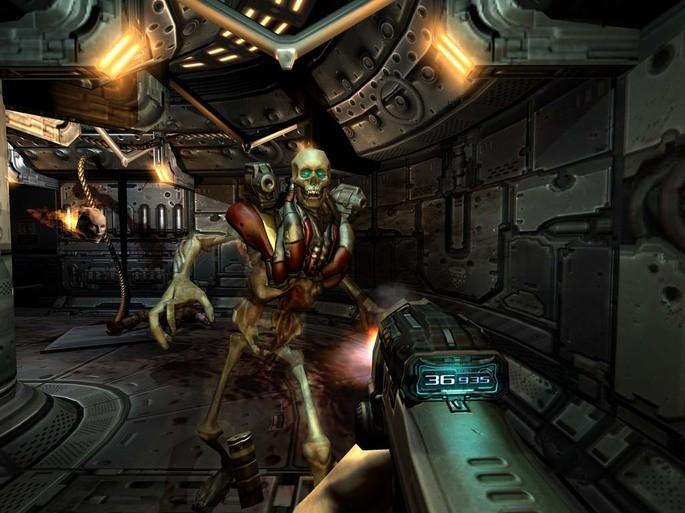 Doom 3 - Juegos de terror para PC pocos requisitos