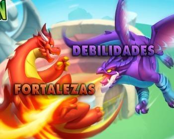 Dragon City: tablas de debilidades y fortalezas para cada elemento