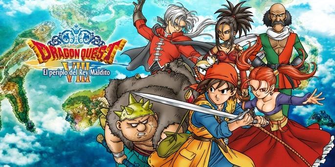 Dragon Quest VIII El Periplo del Rey Maldito - Mejores juegos 3DS