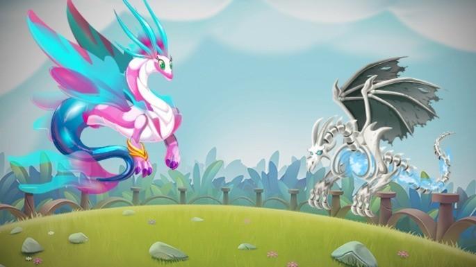 Dragones del Mundo Ancestral de Dragon City