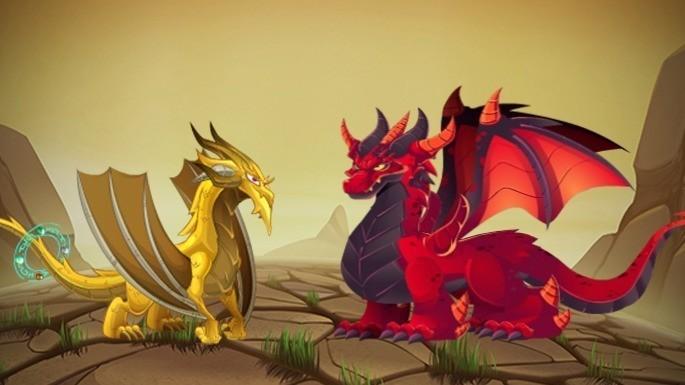 Dragones del Santuario de Cría de Dragon City