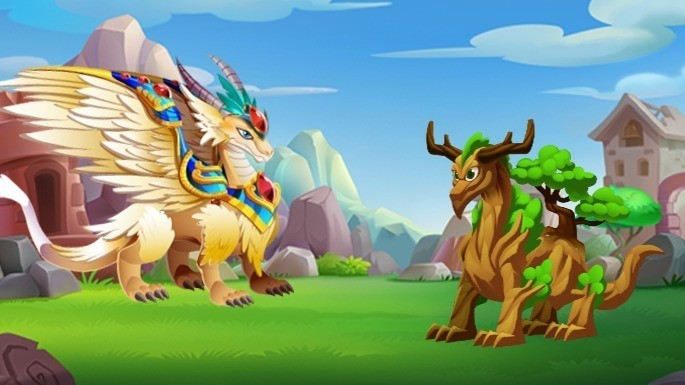 Dragones Raros de Dragon City