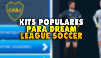 Dream League Soccer: ¡todos los kits de equipos populares del año 2020!
