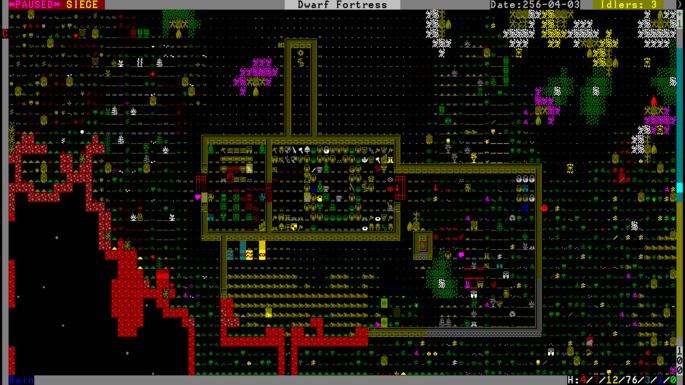 Dwarf Fortress - Juegos más difíciles
