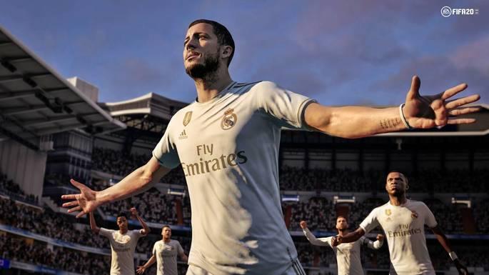Eden Hazard Real Madrid FIFA 20