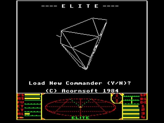 Elite - Juegos antiguos PC