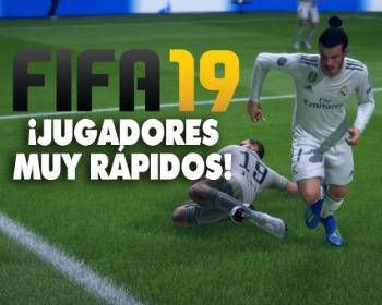 ¡Entérate de quiénes son los 20 jugadores más rápidos de FIFA 19!