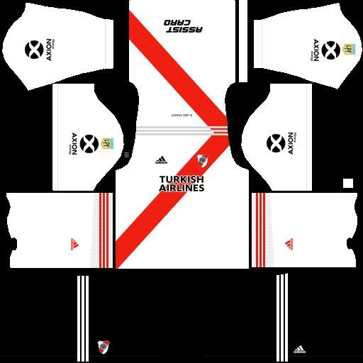 River Plate equipación local Dream League Soccer