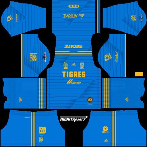 Equipación visitante Tigres UANL Dream League Soccer