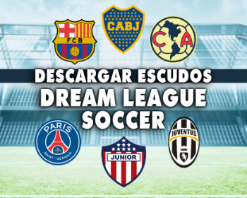 ¡Descarga estos 50 escudos para Dream League Soccer 2019!
