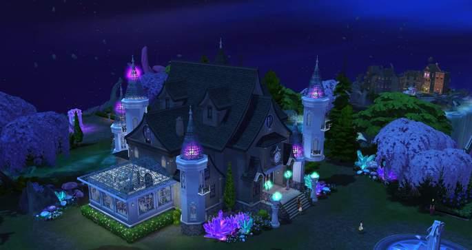 Escuela de magia Los Sims 4