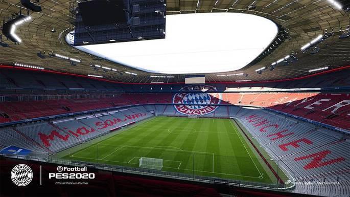 PES 2020: Allianz Arena - Bayern de Múnich