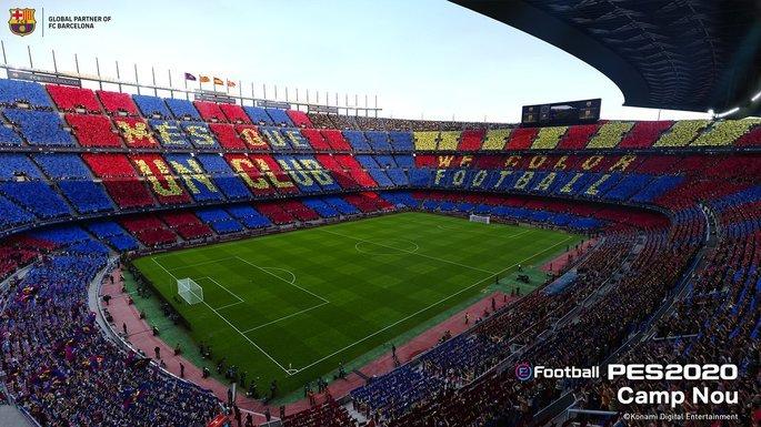 PES 2020: Camp Nou - Barcelona
