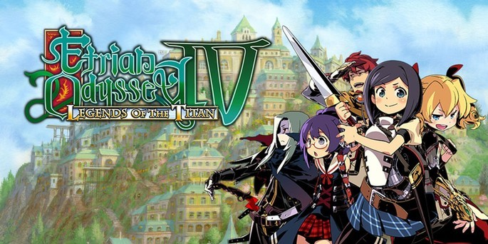 Etrian Odyssey IV Legends of the Titan - Mejores juegos 3DS