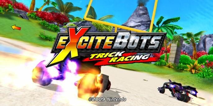 Excitebots Trick Racing - Juegos de Nintendo Wii