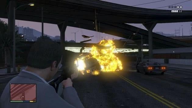 GTA 5 explosivos
