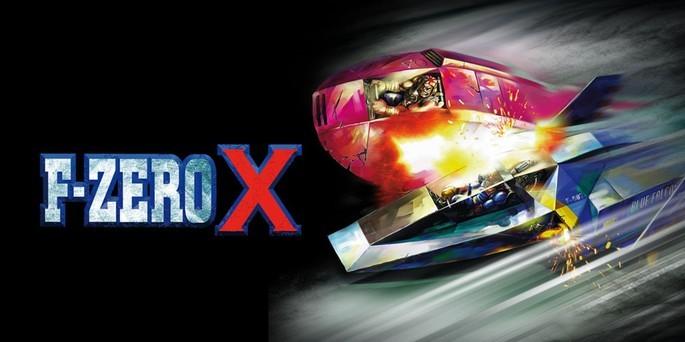 F-Zero X - Mejores juegos de la Nintendo 64